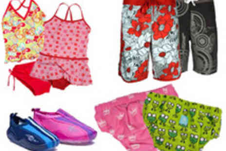 Raindrops - £20 to spend on the entire swimwear range for children aged 0-12 years - Save 50%