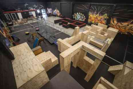 Fluidity Freerun Academy - 60 Minute Adult or Kid Parkour Experience or Ninja Fitness for One or Two - Save 43%