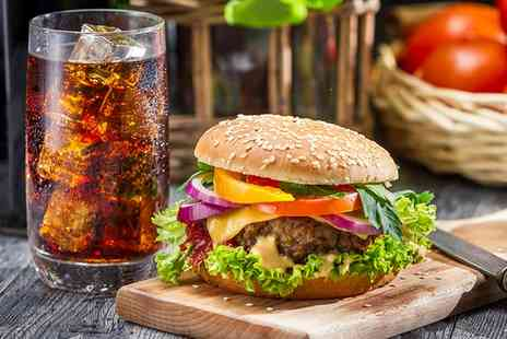 The Crown Inn - Burger with Three Sides and Drink for Two or Four - Save 0%