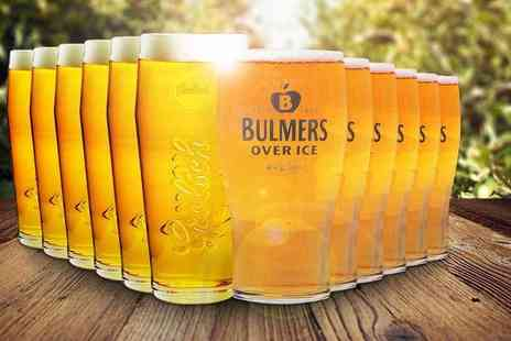 Dream Price Direct - Six or 12 Grolsch or Bulmers pint glasses - Save 67%