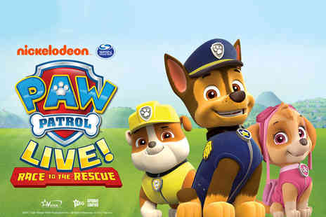 Wonderland Productions - General admission ticket to Paw Patrol Live, Race to the Rescue - Save 52%