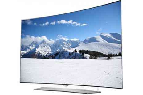 Groupon Goods Global GmbH - LG 65EG960V Smart 3D 4K Ultra HD 65 Inch Curved OLED TV With Free Delivery - Save 38%
