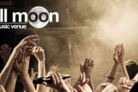The Full Moon - Night Of Live Music With Draught Beer or Cocktail - Save 60%