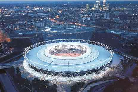 London Stadium - Tour the Home of London 2012, IAAF World Athletics Championships and West Ham - Save 0%