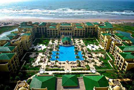 Mazagan Beach Resort - Five Star Peaceful Beachside Location Stay For Two near Casablanca - Save 75%