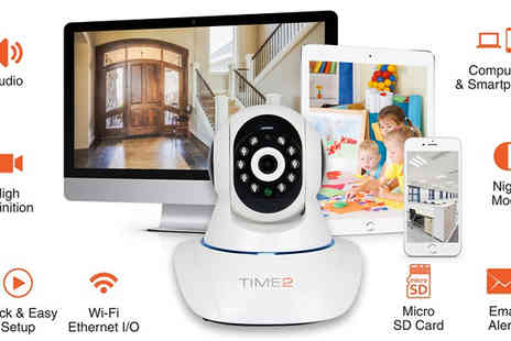 Hedoo - HD Wireless Surveillance Camera - Save 78%