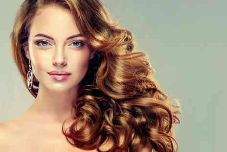 Chic Boutique - Haircut and blow dry with a half head of highlights or balayage hair colour - Save 73%