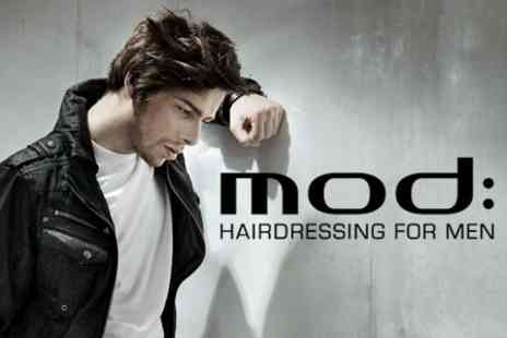 Mod Salons - Mens Hair Wash and Cut - Save 60%