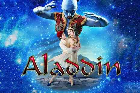 The Lowry Theatre - Ticket to see the Birmingham Royal Ballets Aladdin with a glass of Prosecco from 20th to 23rd September - Save 50%