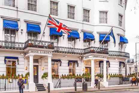 Belgravia Hotel Group - Three course Persian dinner for two and glass of bubbly each - Save 65%