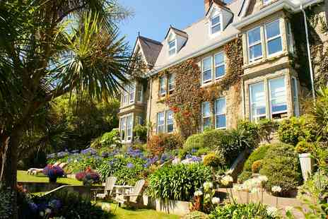 Hotel Penzance - One to Three Nights Stay for Two with Breakfast, Prosecco, Cream Tea and Option for Dinner - Save 0%