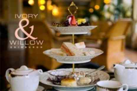 Ivory & Willow - Afternoon Tea For Two - Save 61%