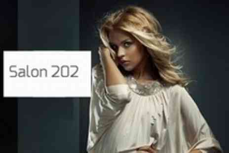 Salon 202 - Cut and Blow Dry With Conditioning Treatment - Save 71%