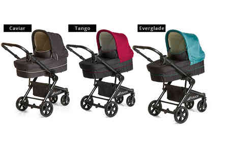 Precious Little One - Hauck Atlantic Plus trio buggy set get a pushchair, carrycot and car seat - Save 43%