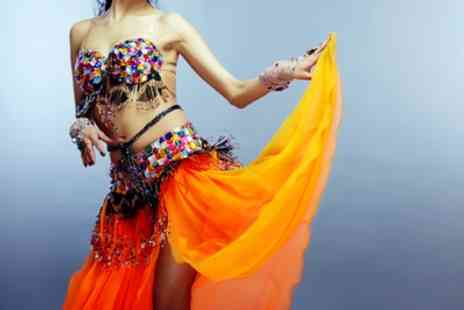 Hasina Belly Dance - One, Three or Five Belly Dance Classes - Save 56%