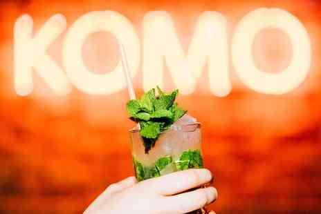 Komo - Three or Five Cocktails - Save 0%
