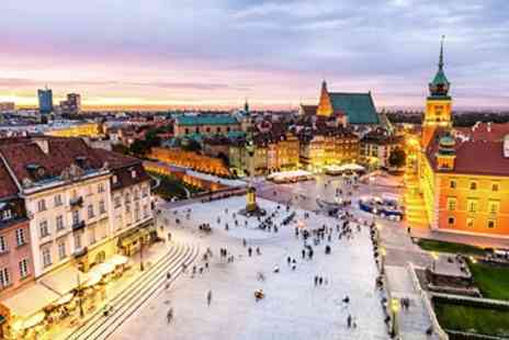 Travel Interaction - Five star Krakow & Warsaw holiday with flights - Save 0%