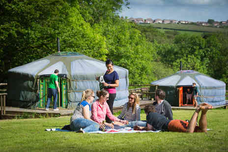 Cwm Tawel Yurts - Four night midweek or three night weekend break yurt stay for up to five - Save 58%