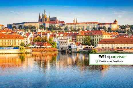 Weekender Breaks - Two or Three night Prague stay with flights - Save 56%