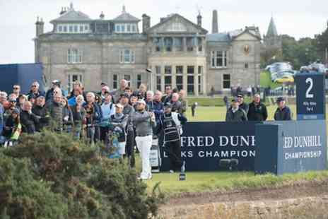 Alfred Dunhill Links Championship - Standard concession or adult ticket to Alfred Dunhill Links Championship on 8 October - Save 33%