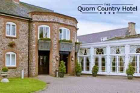The Quorn Country Hotel - In Leicestershire One Night Stay For Two With Two Course Dinner and Breakfast - Save 34%