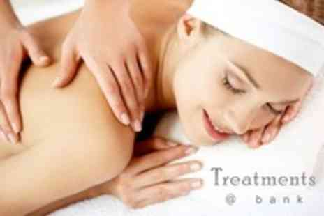 Treatments at Bank - 60 Minute Deep Tissue or Swedish Massage - Save 61%