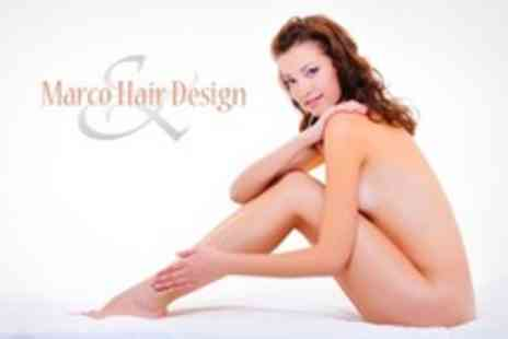 Marco Hair Design - Beauty Treatments Choice of Two Services Such As Waxing and Facials - Save 66%