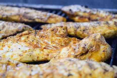 Red Pepper - BBQ Chicken Steak for Two or Four - Save 52%