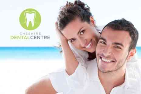 Cheshire Dental Centre - Dental Exam and Screening Plus Hygiene Session and Stain Removal - Save 72%