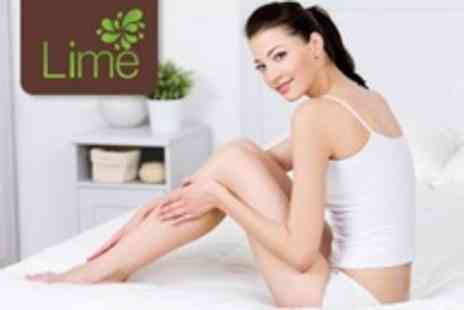 Lime Nails and Beauty - Waxing For Full Legs, Brazilian, and Choice of Small Area - Save 65%