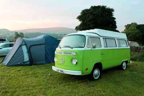 eDub Trips - Two night electric VW campervan hire for up to four - Save 55%