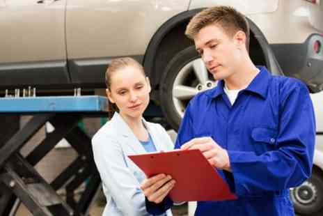 Kam Servicing Ambergate - 54 Point Car Service with Oil and Filter Change and A/C Re Gas or Wheel Alignment - Save 69%