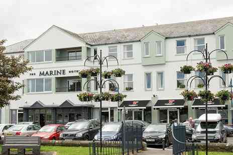 Marine Hotel Ballycastle - One or Two Nights Stay for Two with Breakfast and Option for £5 to 10 Dining Credit - Save 0%
