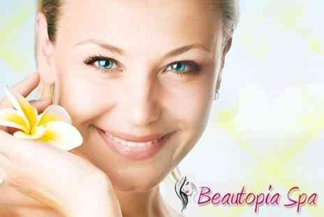 Beautopia Spa - Choice Of Three Treatments Including Facial, Eyelash Extensions, Hot Stone Massage - Save 76%