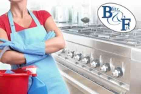 Blitz and Fix - Three Hour Intensive Kitchen and Oven Clean or Intensive House Cleaning - Save 72%