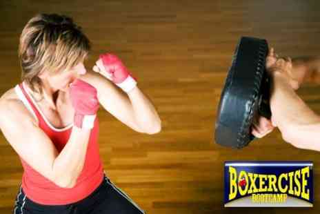 Boxercise Boot Camp - Six One-Hour Boxercise or Boxercise Kick Classes - Save 67%