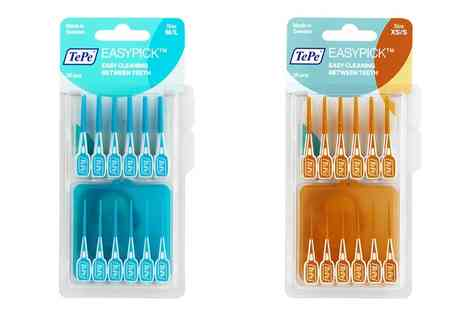 Raion - TePe EasyPick Interdental Brushes in Choice of Size - Save 0%
