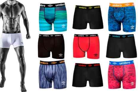 Groupon Goods Global GmbH - Umbro Mens Boxers Eight Pack - Save 0%