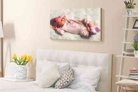 Photo Gifts - Personalised Wood Print in a Choice of Size - Save 0%