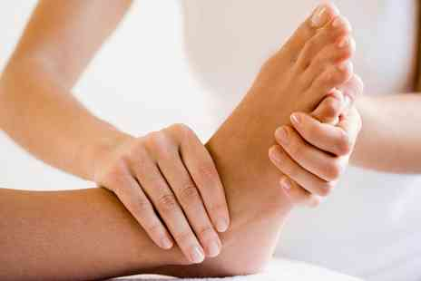 Jaynes Holistic Lounge - 45 Minute Reflexology Session or 60 Minute Full Body Swedish Massage - Save 40%