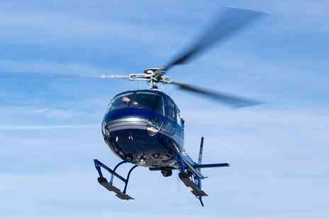 Helicentre Liverpool - 8 or 30 Mile Helicopter Tour with Refreshments - Save 0%