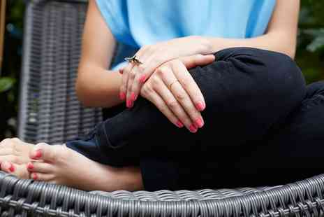 Skindeep Laser and Beauty - Shellac File and Polish for Hands or Feet or Both - Save 52%