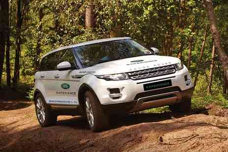 Land Rover Start Off Road - Up to 90 Minute Junior Range Rover Evoque Off Road Driving Experience - Save 0%