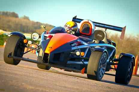 Car Chase Heroes - Up to Nine Laps in Top Gears Ariel Atom - Save 51%
