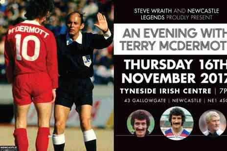 Newcastle Legends - One ticket to An Evening with Terry Mac on 16 November - Save 37%