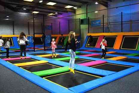 iBounce Trampoline Park - Entry to Trampoline Park for Up to Four - Save 35%