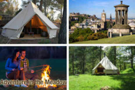 Kirkhill Mansion - 2 nights camping for 2 in a luxury bell tent - Save 65%