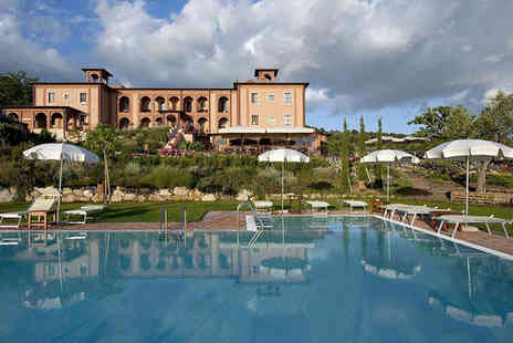 Saturnia Tuscany Hotel - Four Star Rustic Spa Hotel Stay For Two Overlooking Saturnia Valley - Save 66%