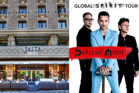Hotel Jalta - Five Star Luxury and Depeche Mode in Concert For Two at O2 Arena Prague - Save 66%