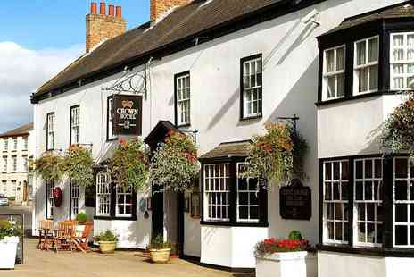 Best Western Crown Boroughbridge Hotel - North Yorkshire escape with dinner, tea & cake, was £210 - Save 53%